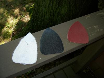 3 Types of Mouse Sanding Materials