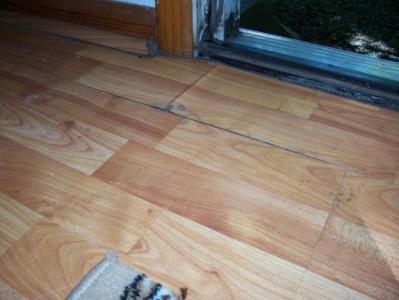 Water Damaged Laminate Flooring