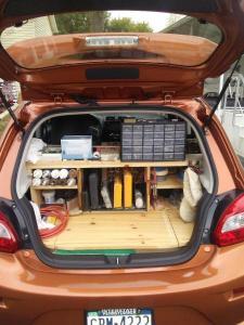 Built-in Shelves for Mitsubishi Marage