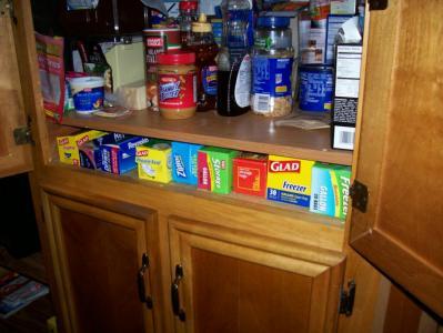 Custom Cabinet Shelf