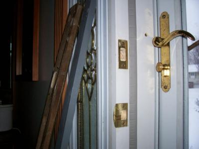 Finished Door Frame Repair