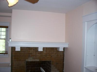 Fireplace Finished Paint