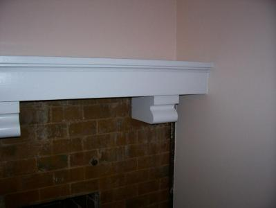 Mantel Re-Finished