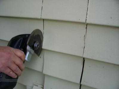 Use Rockwell Tool to Cut Vinyl Siding