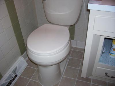New Toilet Installed