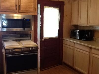 Finished Cabinets Paneling & New Microwave Oven