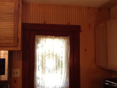 Finished Paneling Cut-In Around Trim